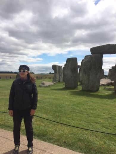 Brought out the shades at Stonehenge
