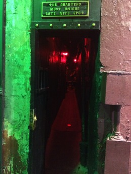 The entrance to The Dungeon.