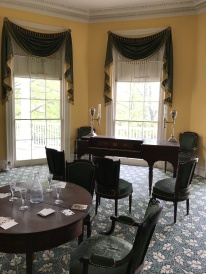 The Hamiltons' parlor